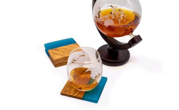 Untersetzer Ocean mit Rum